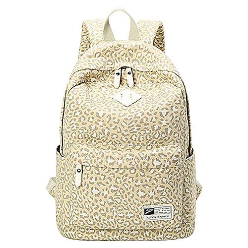 MingTai Mochilas Escolares Mujer Mochila Escolar Lona Grande Leopardo Casual Backpack Chicas Viaje Oferta Mochilas Para Libros: Amazon.es: Zapatos y ...