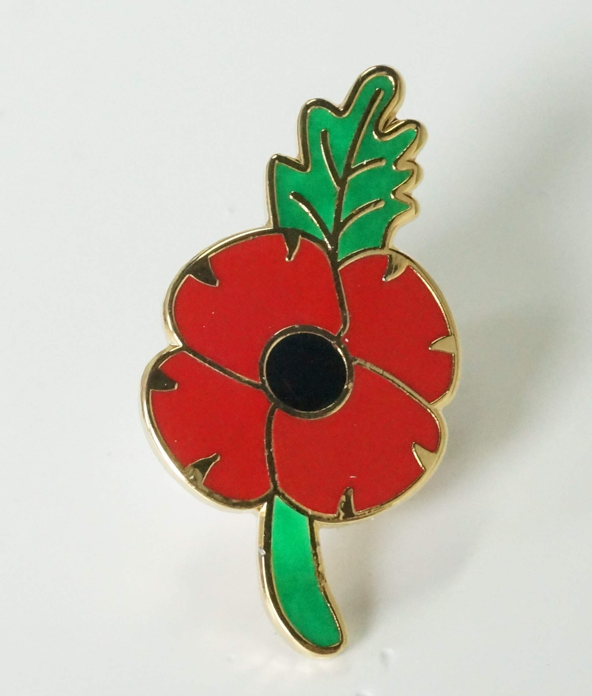 Purple Poppy Pin Badge Remembering The Animals of War Day Brooch 2019 Gift