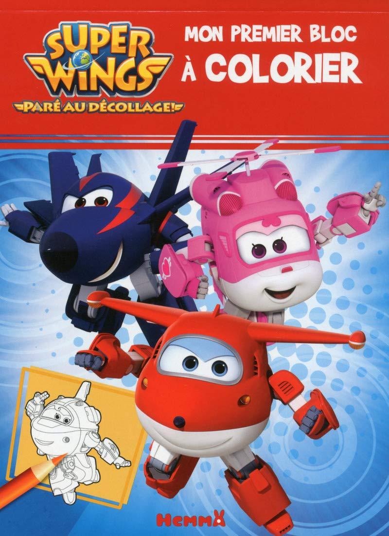 Super Wings Mon premier bloc à colorier: