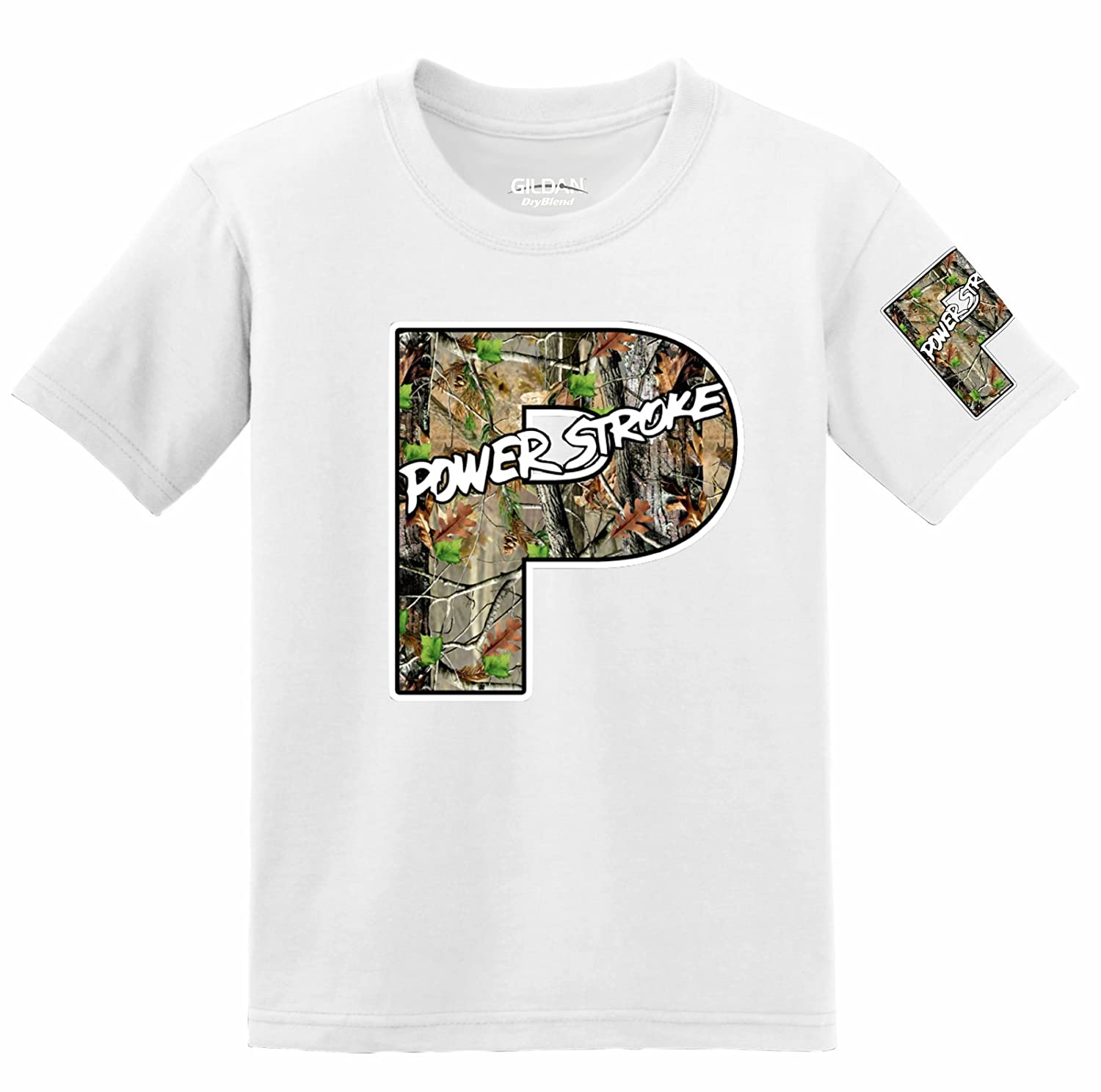 Powerstroke Camo Logo with Sleeve T-shirt
