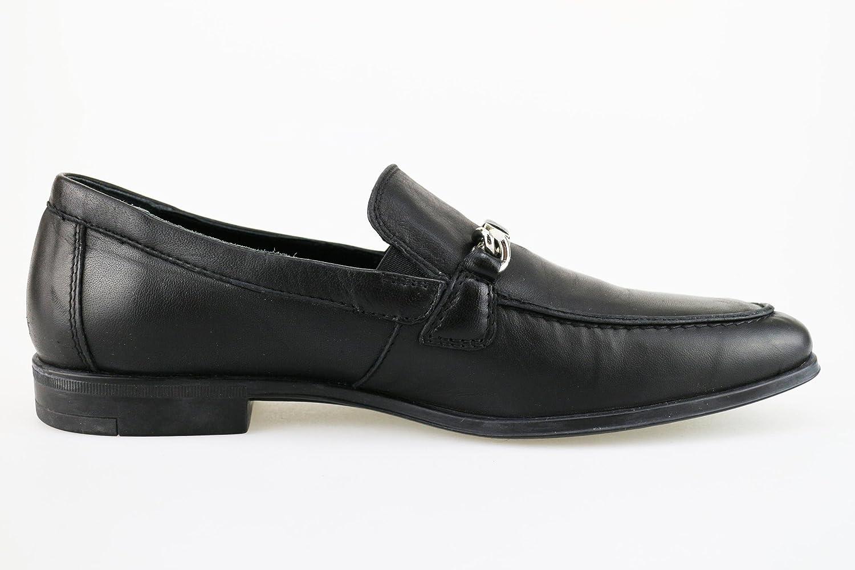 BOTTICELLI Mocasines Hombre Cuero Negro 40 EU: Amazon.es: Zapatos y complementos