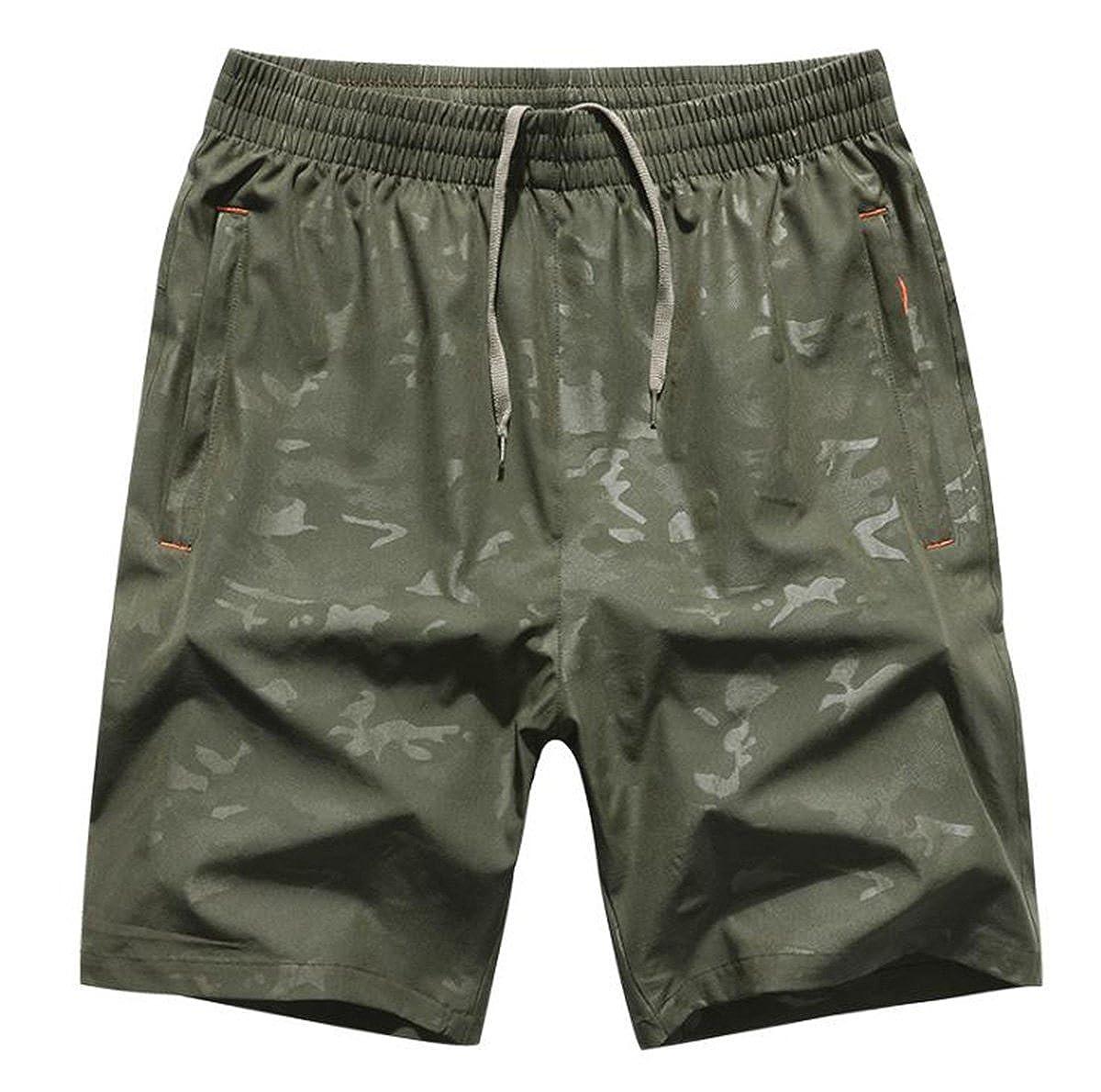 JUNG KOOK SHORTS メンズ XXX-Large アーミーグリーン B07FHLPWTV