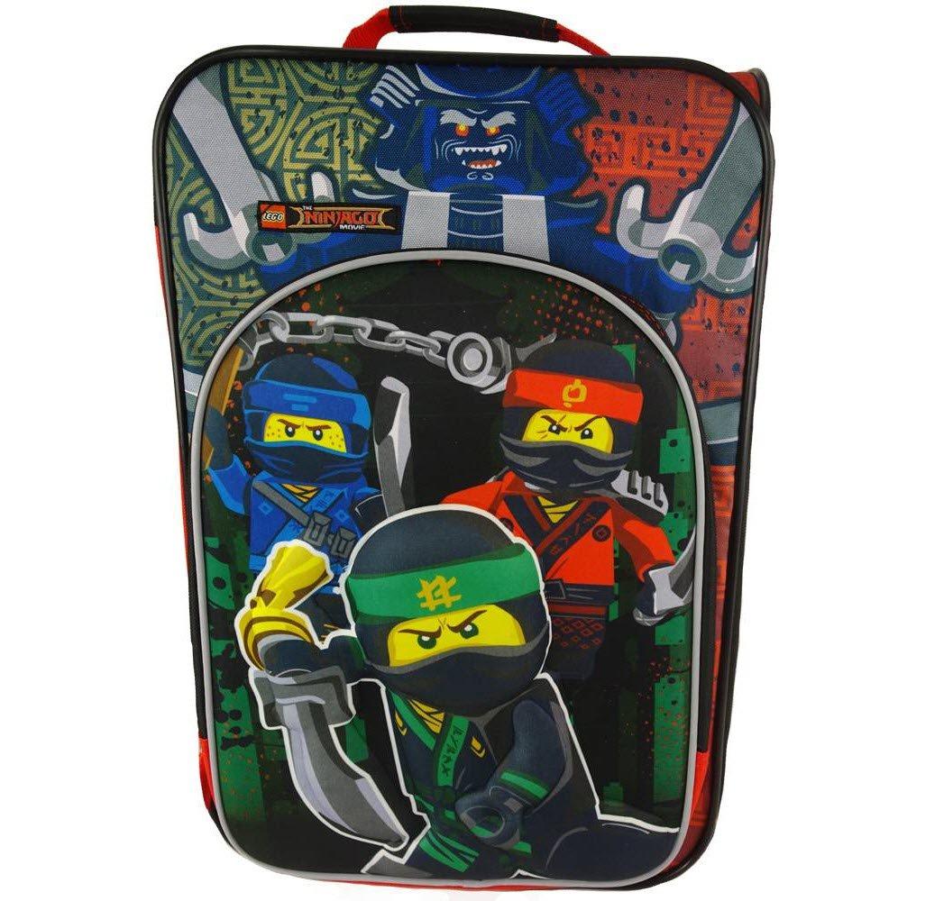 LEGO Ninjago 18 3D Luggage - Red/Black