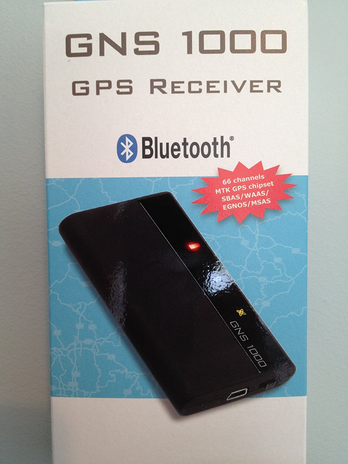 GNS 1000 MFI GPS BT Receiver for iPod, iPhone and iPad