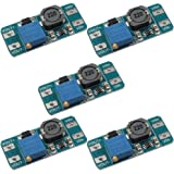 Gaoxing Tech. 5pcs MT3608 DC DC Step Up Potenza Applicare Modulo Booster Power Module per Arduino 2A
