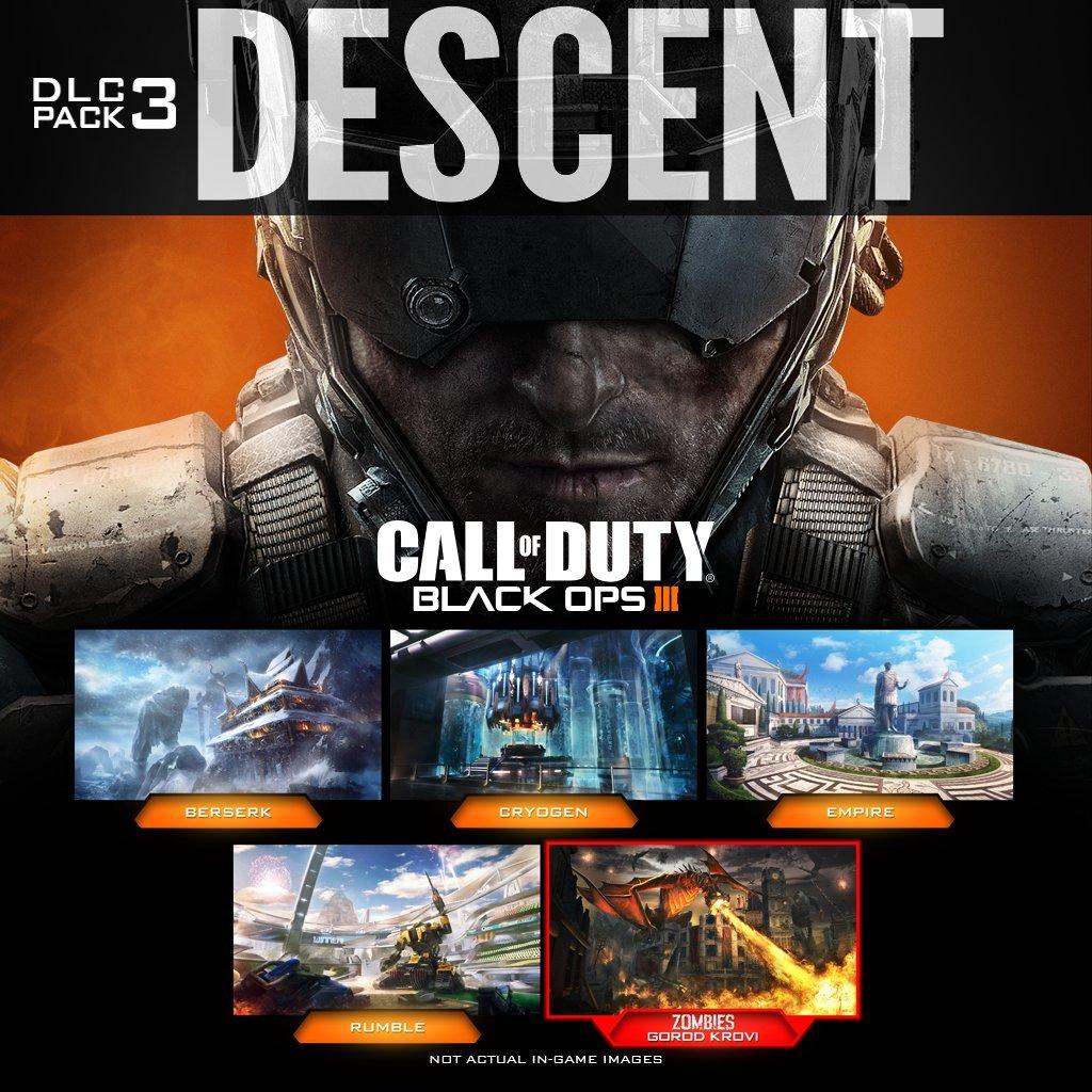 Amazon com: Call Of Duty: Black Ops III: Descent DLC - PS4