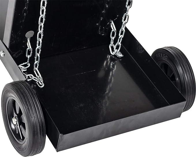 Mig Tig con 4 Estantes Organizador de Taller Bloqueo Integrado hasta 70 kg Carrito Organizador Soldador,Carro de Herramientas de Reparaci/ón de Soldadura 73,5 x 42 x 72 cm