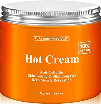 d332a76c84a90 Amazon.com  Pure Body Naturals Hot Cream for Cellulite Reduction ...