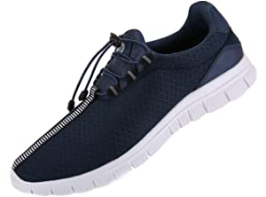 20d5c534e51 JUAN Men s Running Shoes Fashion Sneakers Fitness Shoes Casual Mesh Soft  Sole Lightweight Breathable