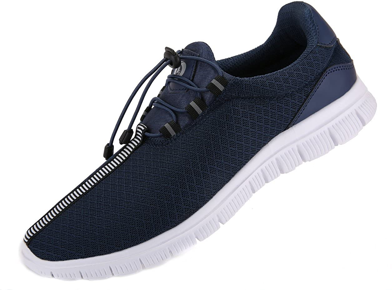 JUAN Men's Running Shoes Fashion Sneakers Fitness Shoes Casual Mesh Soft Sole Lightweight Breathable ¡