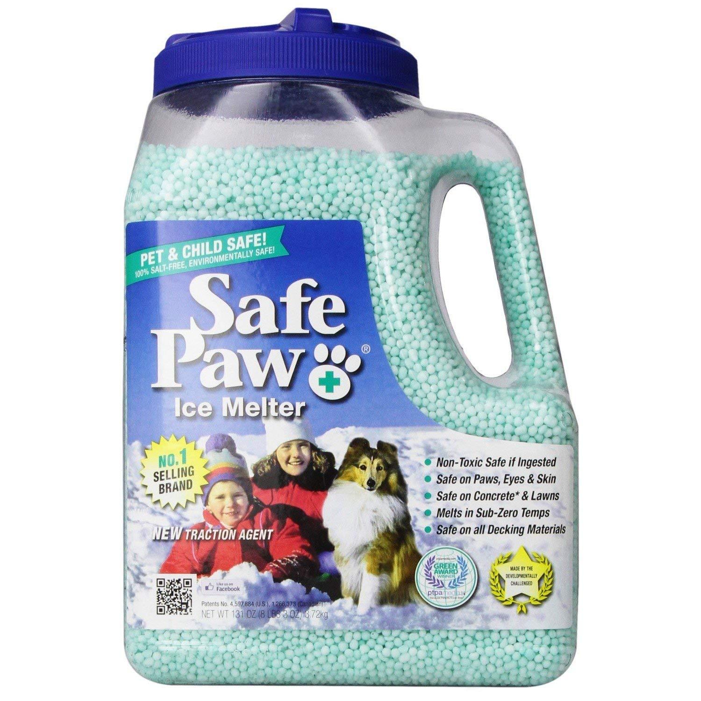 Amazon Com Safe Paw Non Toxic Ice Melter Pet Safe 8 Lbs 3 Oz