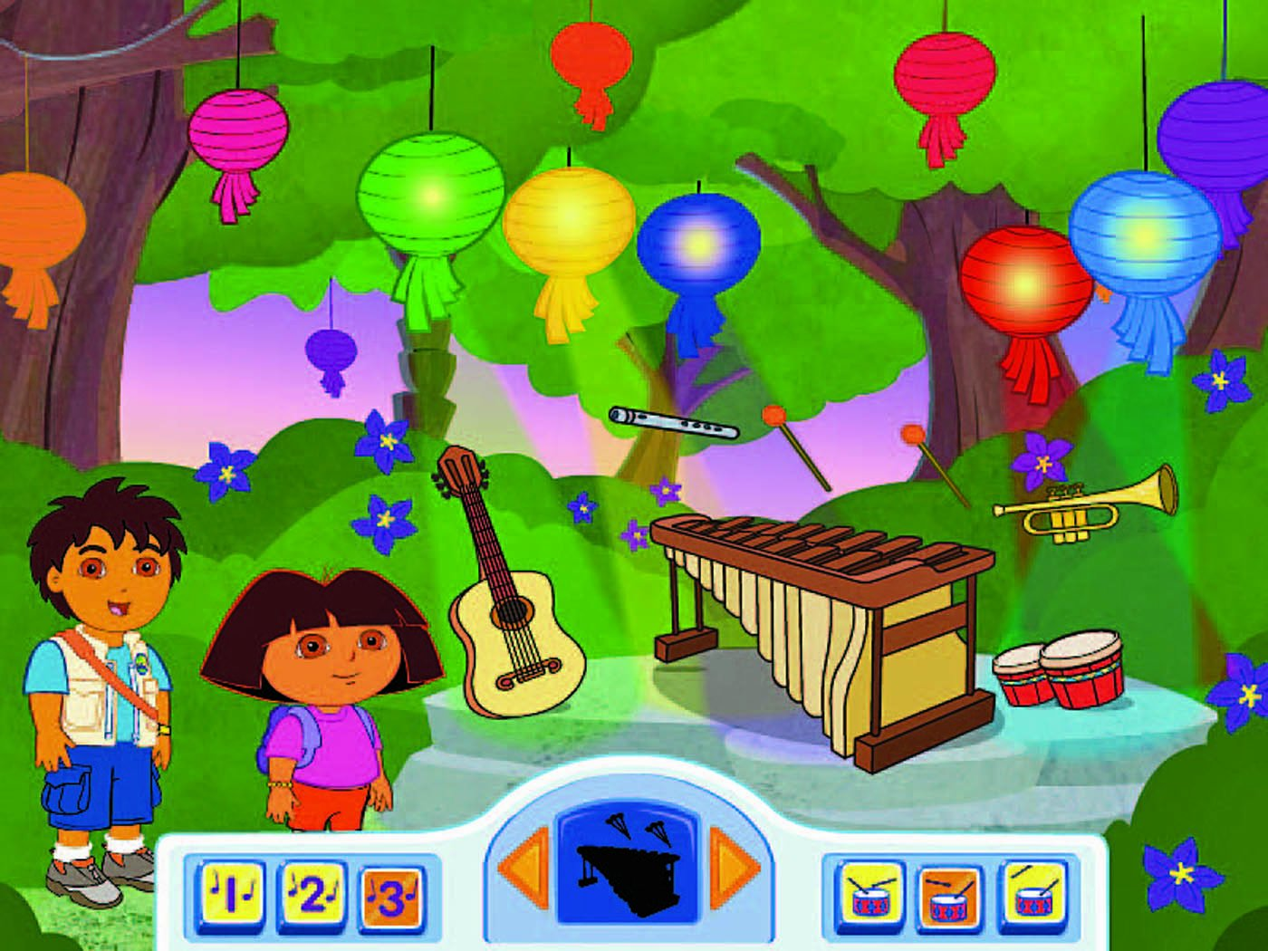 Fisher-Price Fun-2-Learn Computer Cool School Dora and Diego Software by Fisher-Price (Image #3)