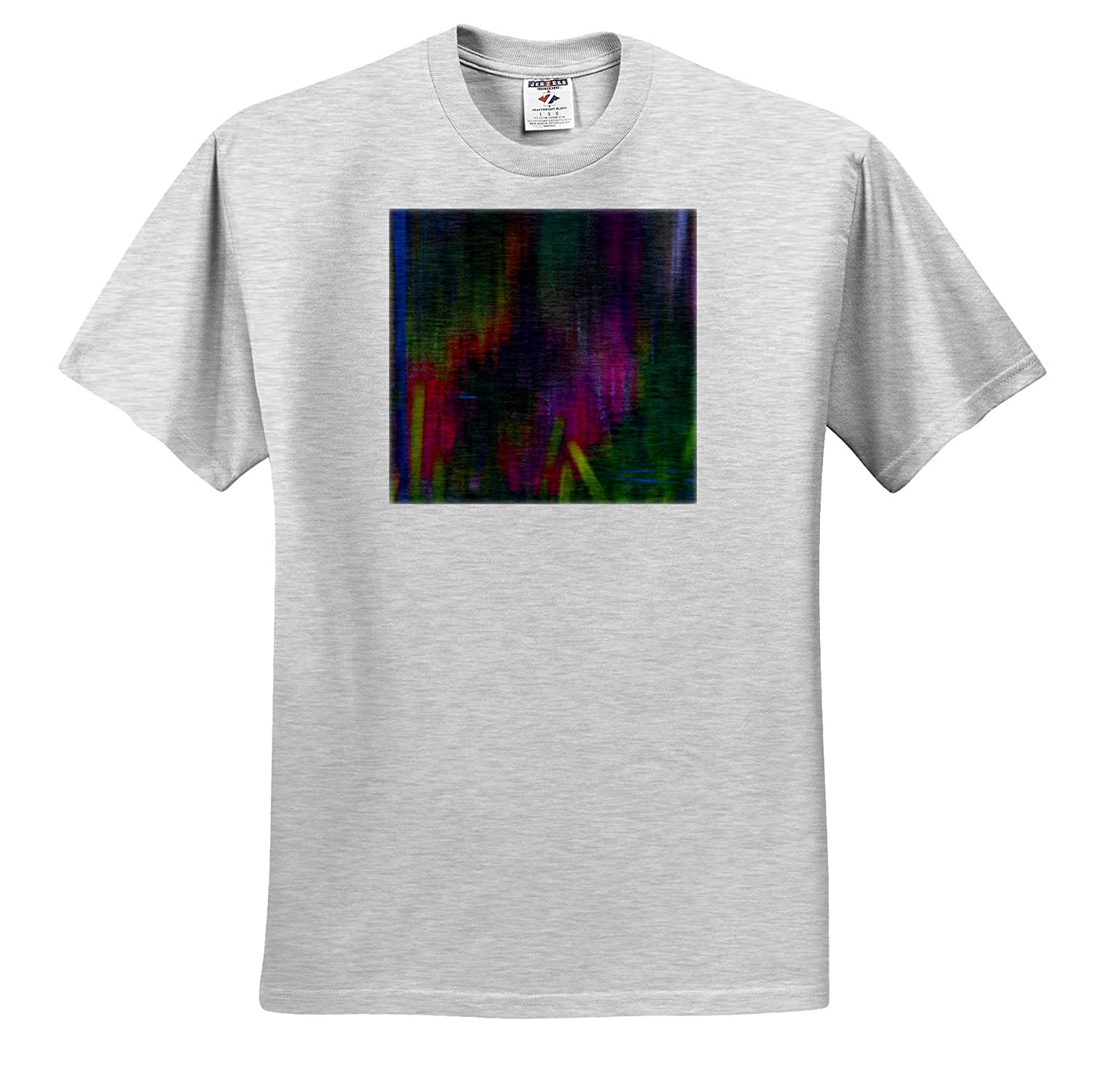 ts/_310385 Abstracts - Adult T-Shirt XL Abstract Pattern Reflections of Leaves on The Pond 3dRose Danita Delimont