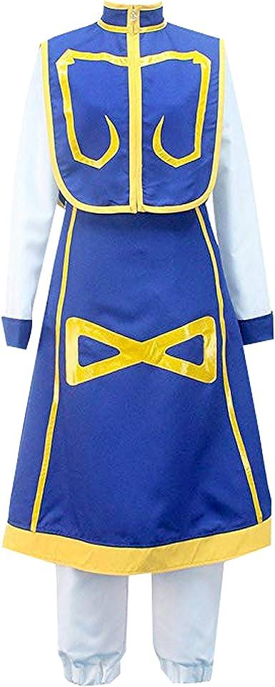 GK-O Anime Hunter x Hunter Kurapika 5 Rings Chain Charms Alloy Bracelet Cosplay Costume Black
