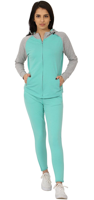Juicy Trendz - Chándal - para Mujer Verde Verde Medium: Amazon.es ...