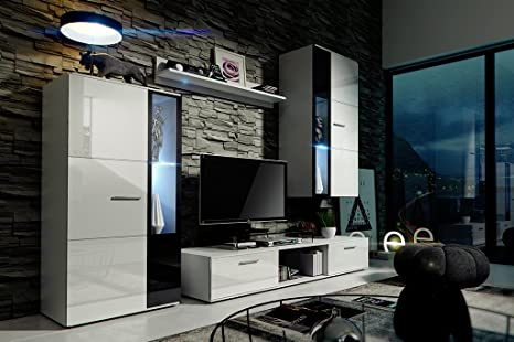 HomeDirectLTD Moderno Conjunto de Muebles de salón Livia ...
