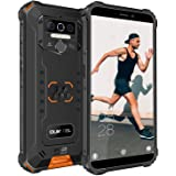 "OUKITEL WP5 (2020) Rugged Cell Phone Unlocked, Android 10 Smartphone 8000mAh Battery IP68 Waterproof, 5.5"" HD+ 4GB 32GB Face"