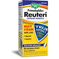 Nature's Way Primadophilus® Reuteri Superior Probiotic Multi Strain with scFOS Delayed...