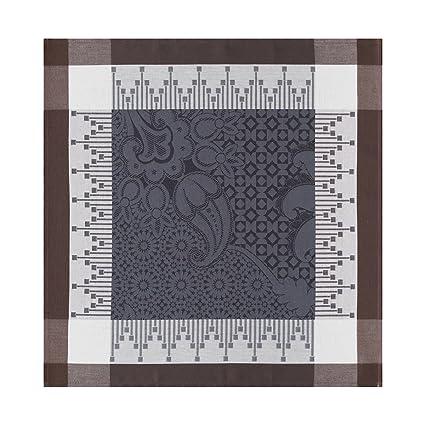 Le Jacquard Francais toalla Palacio Persa, algodón, Khôl, 58 x 58 cm