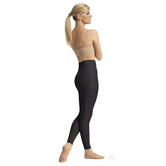 0868e8eec EuroSkins Womens Non-Run Footless Tights (BLACK