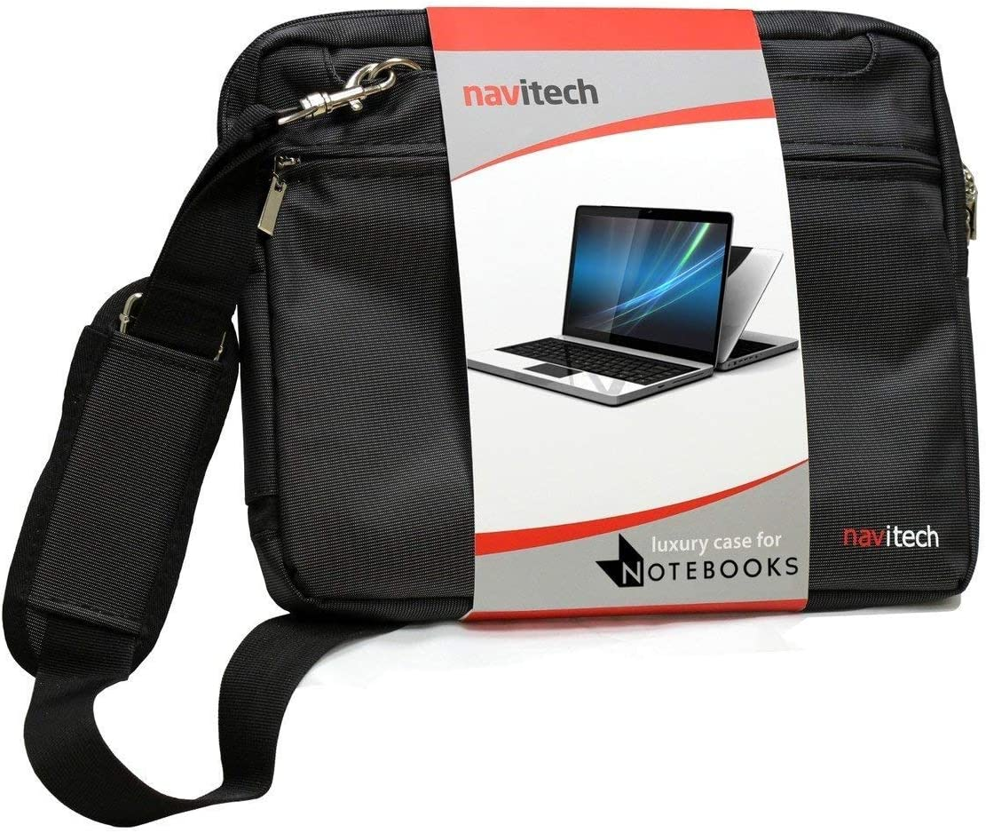 Navitech Black Graphics Tablet Case//Bag Compatible with The Huion New 1060 Plus Graphic Drawing Tablet