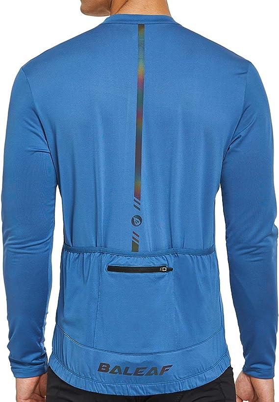 Baleaf男子长袖自行车运动衫