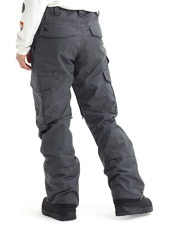 Small Iron Burton Mens Cargo Snow Pant Regular Fit Short