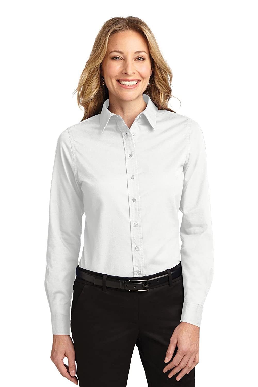 Port Authority Women's Long Sleeve Easy Care Shirt Port Authority L608
