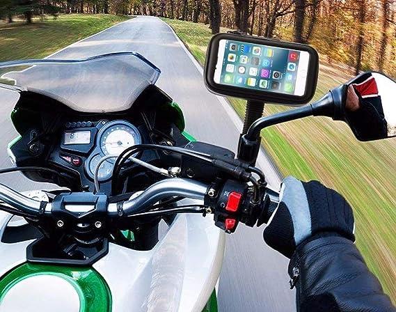 JCB holders® Soporte Moto Oneplus 5t Cargador retrovisor Moto ...