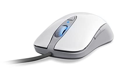 19e004d311f Amazon.com: SteelSeries Sensei Laser Gaming Mouse [RAW] Frost Blue ...