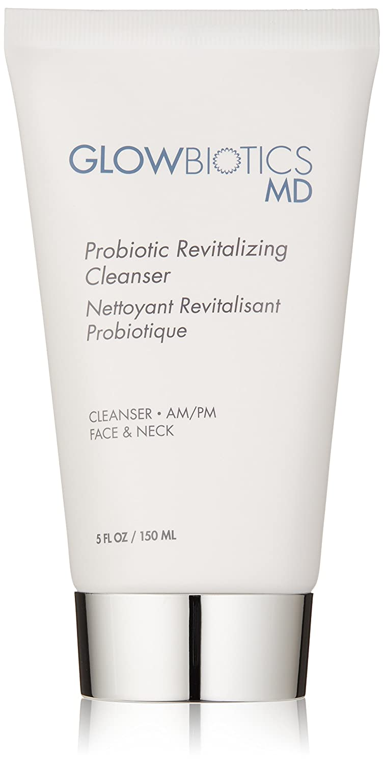 Glowbiotics MD Probiotic Revitalizing Soothing Facial Cleanser for All Skin Types, 5oz