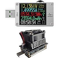 USB Power Meter USB 3.1 Tester Digital Multimeter Current Tester Voltage Detector Lua Interpreter Integrated DC 26V 6A…