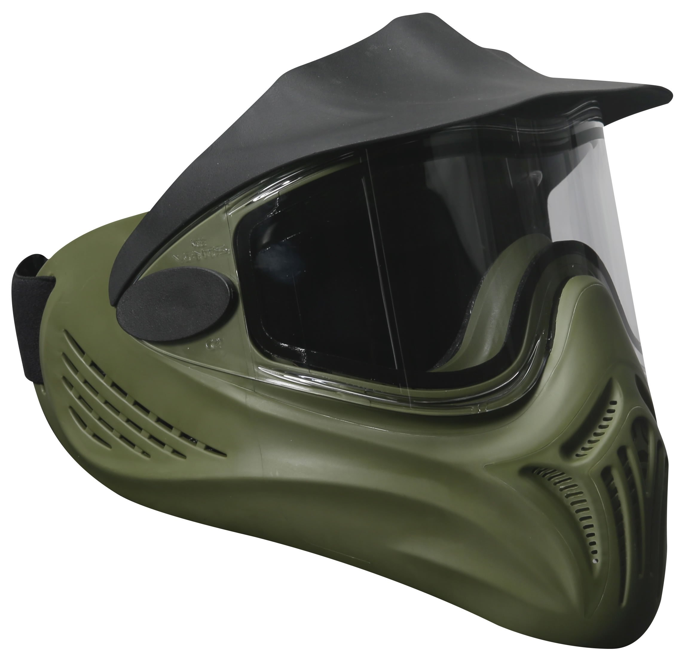 Invert Helix Thermal Paintball Goggles Mask - Olive by Invert