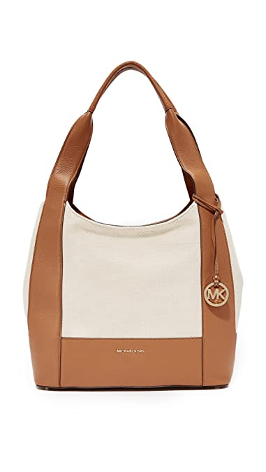 Michael Kors Shoulder Bag for Women On Sale, Acorn, Leather, 2017, one size