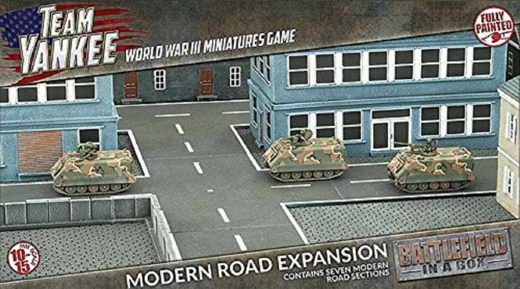 Team Yankee Modern Roads Expansion by Team Yankee