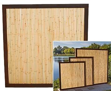 Bambuszaun Koh Samui Mit 180 X 120cm Bambuswand Trennwand