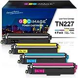 GPC Image Compatible Toner Cartridge Replacement for Brother TN227 TN-227 TN227bk TN223 fit for HL-L3210CW HL-L3230CDW…