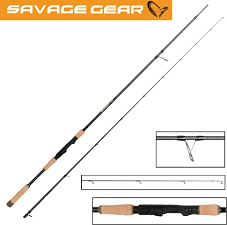 Savage Gear Browser CCS caña de spinning 250 cm 3 – 16 G – Ultra ...