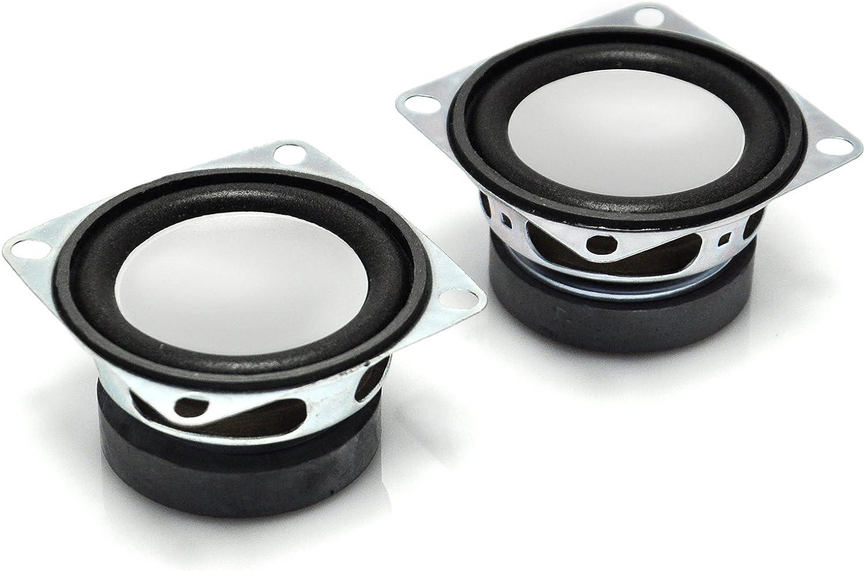 Gikfun Round Micro Speaker Diameter 28mm 8Ohm 8R 2W for Arduino Diy Pack of 2pcs AE1054U