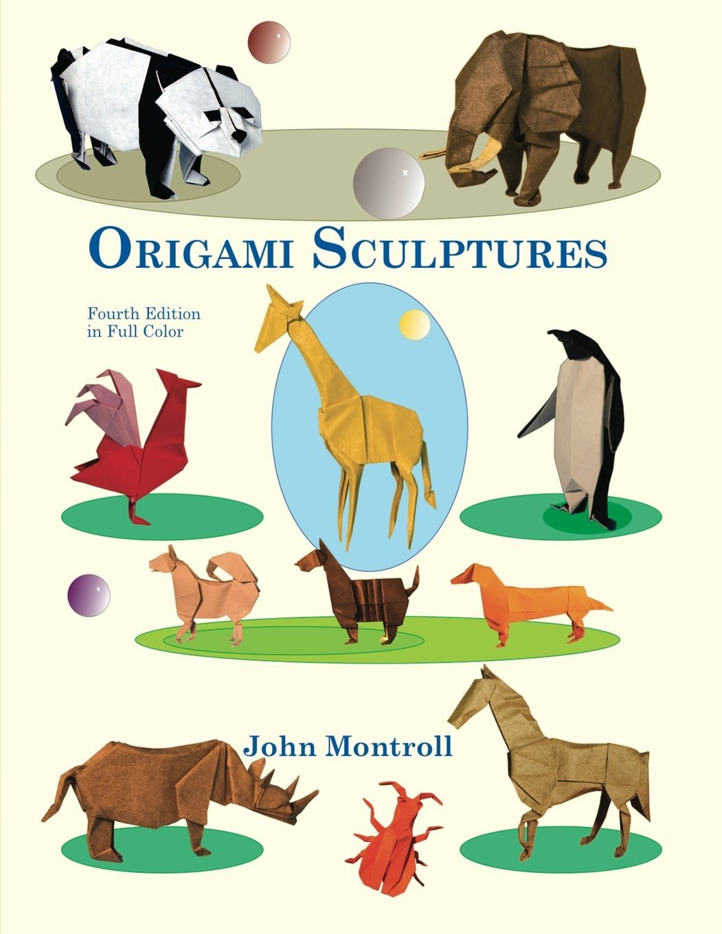 Origami Sculptures John Montroll 9781877656248 Books Folding Diagram 1 Of 3 Scottish Terrier Dog Money