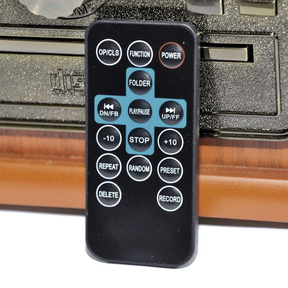 Lauson Tocadiscos Bluetooth, Vintage de Madera: Amazon.es ...