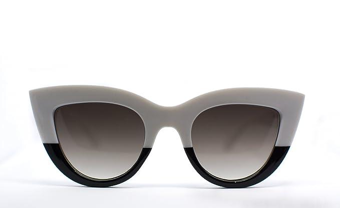 comprare on line 19433 63d22 occhiali da sole donna gatta modello SOFIA (bianco e nero, grigio ...
