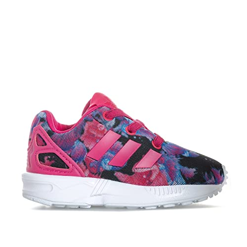 Adidas Originals ZX Flux EL Zapatillas para Niña Morado, 19: Amazon.es: Zapatos y complementos