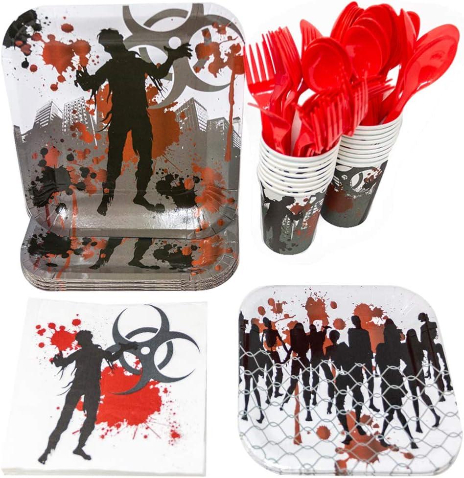 Zombie Party Tableware Bundles