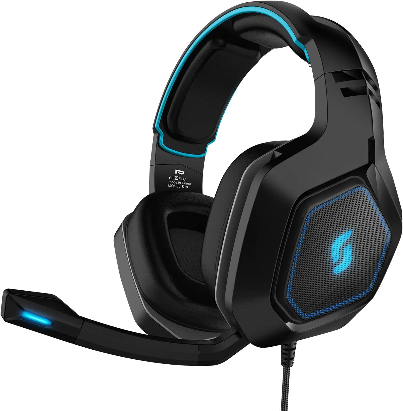 Sliq Gaming Scorpio Gaming Stereo Headset/Headset with Microphone/Mic for PC, PS4, Xbox One, Nintendo Switch, Mobile, Tablet: Amazon.es: Electrónica