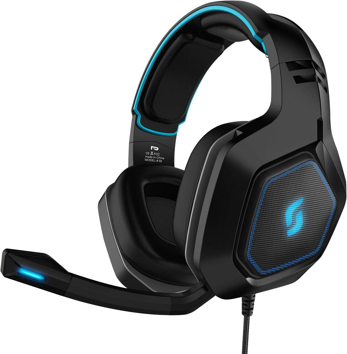 Sliq Gaming Scorpio Gaming Stereo Headset/Headset with Microphone ...