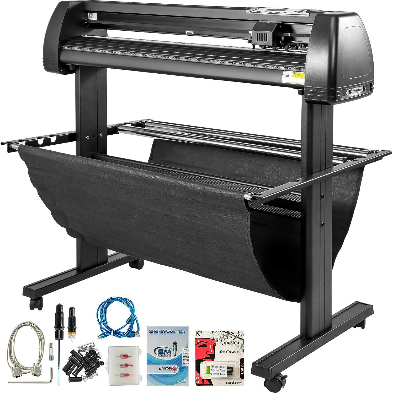 Cortador de Vinilo VEVOR de 28 Pulgadas, máquina cortadora de Vinilo de 720 mm, Manual para Impresora de Vinilo, Pantalla LCD, cortadora de letreros con Software Signmaster: Amazon.es: Electrónica