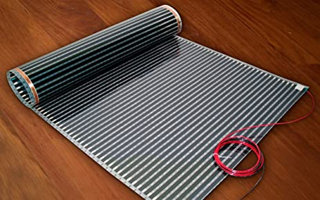 Thermofilm 50 Ft X 18 In 75 Sq Ft 240 Volt Floor Heating Film