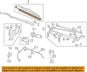 Acura 76632-SHJ-A11 Windshield Wiper Blade Refill