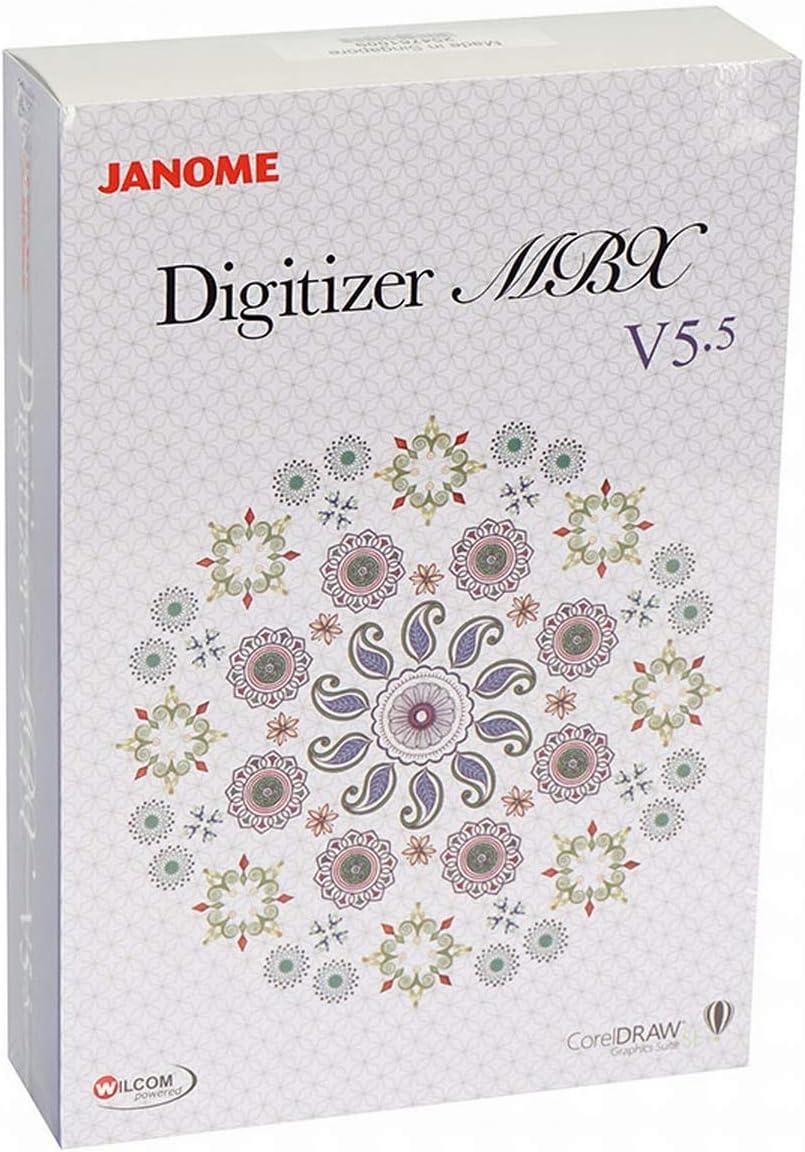 Janome Digitizer MBX V5.5 (versión completa), nuevo programa de ...